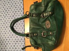 FOSSIL Leather MADDOX Satchel Tote Bag Purse