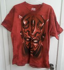 Darth Maul Star Wars T-Shirt Adult XL X-Large