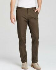NEW HUGO BOSS RICE 1 ESPRESSO BROWN SLIM FIT STRETCH CASUAL CHINO PANTS SIZE 38R