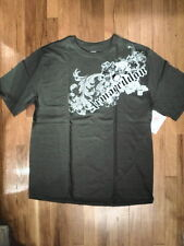 "NWT Jerzees ""ARMAGEDDON"" Olive Green Graphic T-Shirt,  Sz. XL  (S-T-52)"