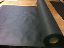 Per Metre Black Upholstery Base Cloth / Lining Heavy Duty Fabric diprol 1m wide.