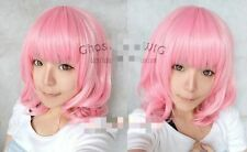 Hot!Promotion! New Medium FIVE color Mix Curly Cosplay BOB Wavy Wig