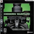 Call Of Duty: Modern Warfare 2 Prestige Edition (Playstation, PS3, Shooter) NEW