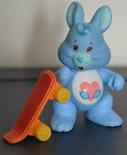 Vintage Kenner CARE BEAR COUSIN SWIFT HEART RABBIT Toy Figure Complete Accessory