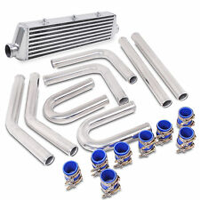 UNIVERSAL ALLOY TURBO VR6 550x140x65 FRONT MOUNT INTERCOOLER CORE HARD PIPE KIT