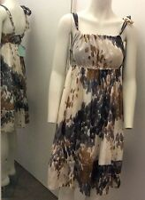 ALMOST FAMOUS 100% SILK PRINTED DRESS BNWT SIZE 12 Rrp £110