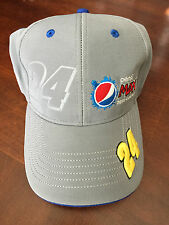 Jeff Gordon SAMPLE Pepsi Max Gray Hat Cap NEW Chase