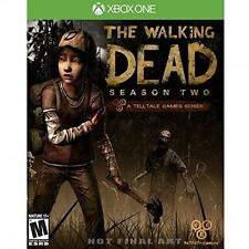 XBOX ONE XB1 GAME THE WALKING DEAD SEASON 2 TWO BRAND NEW AND SEALED