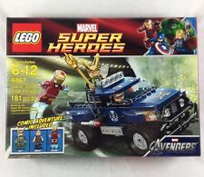 Lego Lokis Cosmic Cube Escape 6867 Marvel Super Heroes Avengers Iron Man Hawkeye