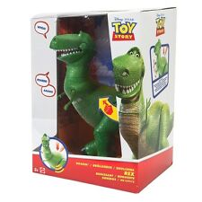 Toy Story 30cm Roaring Rex - press button  to see him in action - Brand New