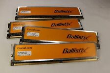 4GB Crucial Ballistix 4x1GB 240-Pin DDR2 SDRAM 800 (PC2 6400) Desktop Memory