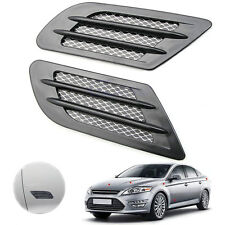 Decoration Sticker Fender Car Side Air Flow Vent Hole Cover Intake Grille Duct B