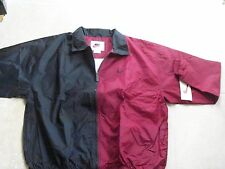 New NIKE Windbreaker, Wine/Black  1996 dead stock Vintage, SZ: XL