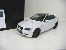 Kyosho 1:18 bmw m3 coupé e92 blanco white carbon nuevo New