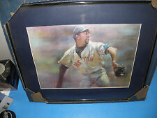 """MLB- PEDRO MARTINEZ- BOSTON RED SOX WHIND-UP LITE FRAMED PICTURE 16X20 1/2"""""""