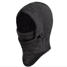 Homme Noir extérieure hiver Ski masque Chapeau Capuche Toute Visage Anti Froid
