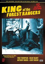 KING OF THE FOREST RANGERS -  Cliffhanger serial, 2 disc DVD- LARRY THOMPSON