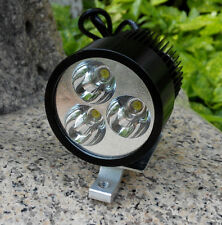 Motorcycle Car 12V 24V 36V 48V 80V High Power LED Spot Light Headlight 15W