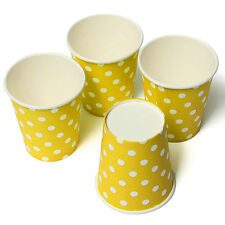 10 Polka Dots Paper Drinking Cups Wedding Party Drinking Tableware Color 3