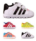Baby Boy Girl Crib Shoes Toddler Sneakers Pre-walker Size 0-6 6-12 12-18 Months