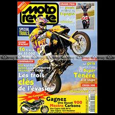 MOTO REVUE N°3184 YAMAHA XTZ 750 SUPER TENERE TRIUMPH 900 TIGER YVES DEMARIA '95