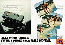 Publicité advertising 1979 (2 pages) Appareil photo Agfamatic Agfa Gevaert