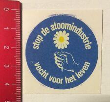 Aufkleber/Sticker: Stop De Atoomindustrie - Vecht Voor Het Leven (090616166)
