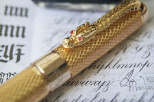 Jinhao 1200 Rollerball Golden Dragon pen UK Supplied christmas presents gift