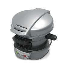 Hamilton Beach Breakfast Sandwich Maker Kitchen Counter Top Press | 25475