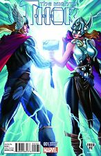The Mighty Thor #1 (Vol 2 2015) Rare J Scott Campbell Fried Pie Variant NM/NM+