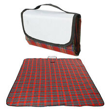 Red Outdoor Camping Waterproof Mat Picnic Blanket Rug size 180*150cm