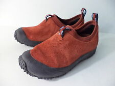 MERRELL IMPROV MOC TUMBLEWEED RED SUEDE LEATHER PULL ON SHOE EUR 36 US 6M