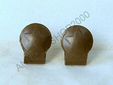 WWII RKKA Russian Red ARMY Original pair Belt Hook Holders with STAR WW2 - A2