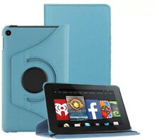 "FUNDA CARCASA GIRATORIA 360º TABLET AMAZON KINDLE FIRE 7"" - AZUL CLARO"