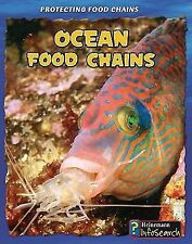 Ocean Food Chains (Protecting Food Chains)-ExLibrary