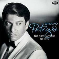 PATRIZIO BUANNE BRAVO PATRIZIO THE FIRST 10 YEARS OF HITS CD NEW