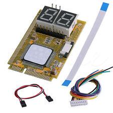 5in1 Mini PCI PCI-E LPC I2C ELPC Debug Card PC Diagnostic Analyzer Tester Cables