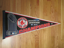 "2004 World Series BOSTON RED SOX Champions 30"" Pennant TROPHY Manny Ramirez MVP"