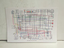 BMW WALL SIZE LAMINATED ELECTRICAL SYSTEM WIRING DIAGRAM 73 74 ALL /6 MODELS