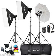 Neewer 540W(180W x 3)Professional Photography Studio Flash Strobe Lighting Kit