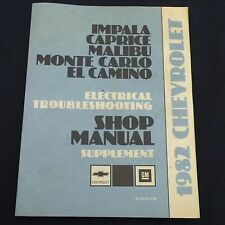USED 82 Impala Caprice Chevelle Electrical Troubleshooting Shop Manual ST329-82