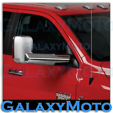 10-16 Dodge Ram 1500+2500+3500+HD Triple Chrome plated Towing Mirror+Arm Cover