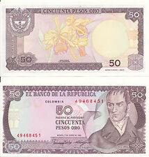 Colombia/Colombia - 50 pesos oro 1986 UNC Pick 425b