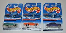 Hot Wheels 1998 FIRST EDITION SERIES Diecast Set 3 Rare 1997 Packs MINT on Card