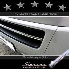 VW T5 Serie 2,'09-'15, 3M embellecedor cromado,para Rejilla inferior,Travesaño