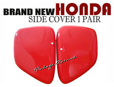 HONDA TOURING C200 CA200 C201 SIDE COVER 1PAIR [RED]