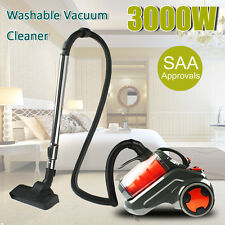 3000W Bagless Cyclone Cyclonic Vacuum Cleaner Filtration System Floor Brush 50Hz