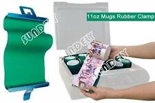 New 3pcs Rubber Clamps for 11oz Mugs 3D Sublimation Transfer Heat Press Machine