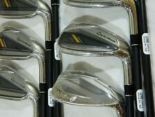NEW TAYLORMADE ROCKETBLADEZ HP IRONS HIGH POLISH 4-PW REGULAR GRAPHITE IRON SET