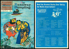 Philippine Classic Illustrated JMC KOMIKS THE RUNAWAY DUMPLING Comics